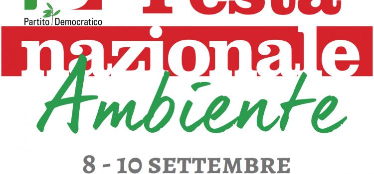 FESTA NAZIONALE AMBIENTE PD, dall'8 al 10 settembre, Torino