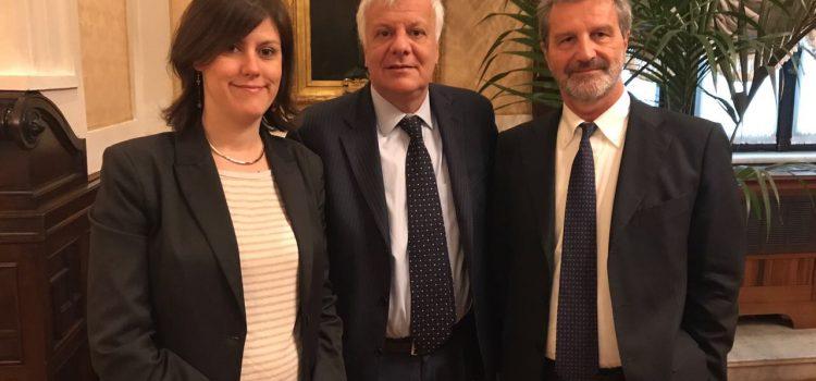 AMBIENTE, Galletti convoca riunione sui Livelli del Lago di Como – Incontro con parlamentari PD Braga e Guerra