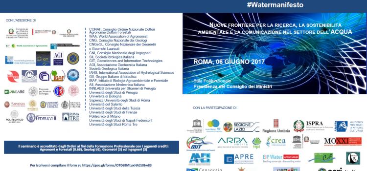 #Watermanifesto 2017