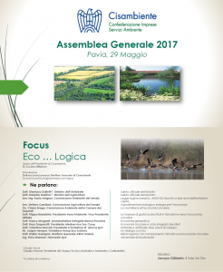 CISAMBIENTE, Focus Eco...Logica | GIUSSAGO (PV)