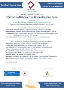 RemTechEsonda Expo | Conferenza Nazionale sul Rischio Idrogeologico | Ferrara Fiere Congressi | FERRARA