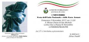 FESTA dell'UNITA' NAZIONALE e delle FORZE ARMATE | ore 11.00 | S.Messa Chiesa di S. Michele, corteo piazza IV Novembre | BREGNANO @ Piazza IV Novembre, Bregnano | Bregnano | Lombardia | Italia