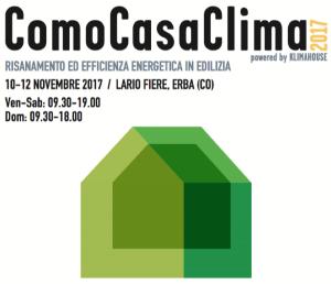 Inaugurazione di ComoCasaClima 2017 | ore 11.00 | Lario Fiere | ERBA @ Lario Fiere, ERBA | Erba | Lombardia | Italia