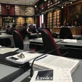 DEF, audizione del ministro dell'Economia Padoan in Commissione Speciale