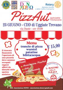 PizzAut nutriamo l'inclusione | ore 19.00 | CDD di via Dante | UGGIATE TREVANO (CO) @ CDD Uggiate Trevano | Uggiate Trevano | Lombardia | Italia