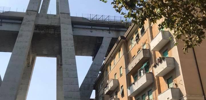 GENOVA, Ponte Morandi, visita istituzionale con le Commissioni Trasporti e Infrastrutture