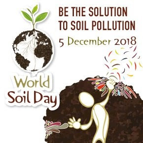 5 dicembre, WORLD SOIL DAY: #StopSoilPollution