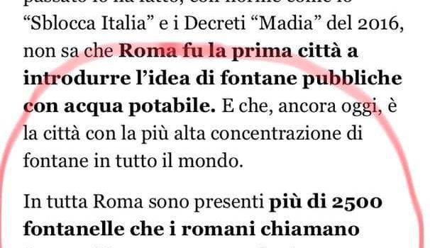 """ACQUA: """"Da Grillo solo demagogia"""""""
