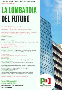 LA LOMBARDIA DEL FUTURO | ore 9.30-13.00 | Sala Gonfalone di Palazzo Pirelli, via Fabio Filzi, 22 | MILANO @ Sala Gonfalone, Palazzo Pirelli | Milano | Lombardia | Italia