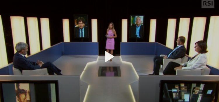 """A """"60 MINUTI"""" TV SVIZZERA : """"ITALIA AL BIVIO? CRISI DI GOVERNO E SCENARI FUTURI"""""""