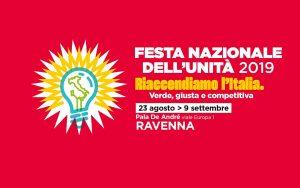 Festa nazionale de l'Unità Ravenna @ Pala De André | Ravenna | Emilia-Romagna | Italia