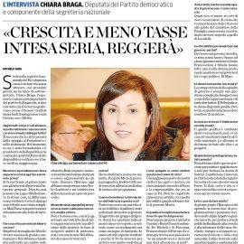 """INTERVISTA a La Provincia di Como: """"La sfida che abbiamo deciso di giocare per l'Italia e l'Europa"""""""