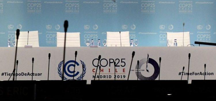 """COP25: """"Oggi no, non è una bella giornata"""""""
