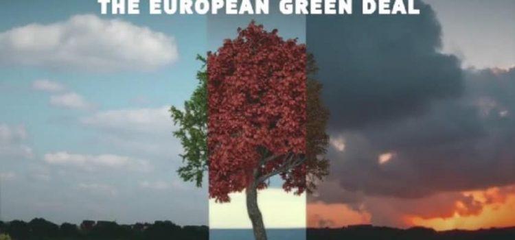 """EUROPEAN GREEN DEAL: """"Piano di investimenti di 1000 miliardi  per l'economia verde"""""""