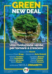 Green NewDeal: una rivoluzione verde per tornare a crescere | ore 16.00 | Spazio Eventi | ROMA @ Spazio Eventi | Roma | Lazio | Italia