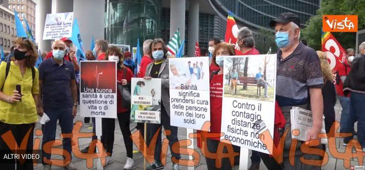 """SANITA' LOMBARDA: """"La protesta dei Sindacati. Le RSA non sono ospedali"""""""