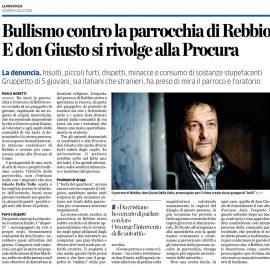 """COMO, REBBIO: """"Vicina a don Giusto Della Valle e alla comunità di cui ogni giorno si prende cura"""""""