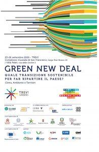 Green New deal quale transizione sostenibile per fare ripartire il Paese | ore 10.00 | Complesso museale San Francesco, largo don Bosco, 14 | TREVI (PG) @ Complesso museale di San Francesco | Trevi | Umbria | Italia
