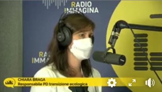 """INTERVISTA A RADIO IMMAGINA: """"Il Piano nazionale di ripresa e resilienza, un progetto-Paese, un'occasione storica"""""""