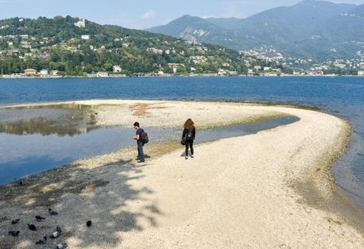 """LAGO DI COMO, CRISI IDRICA: """"Allarme siccità. Un tavolo tecnico per affrontare la grave situazione ecosistemica del nostro lago"""""""
