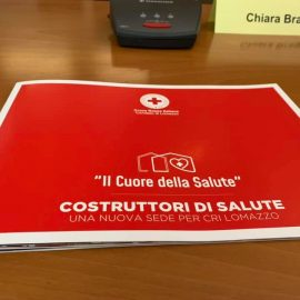 """CROCE ROSSA LOMAZZO (CO): """"Nuovo progetto di sede proprio nella Giornata mondiale della Croce Rossa"""""""