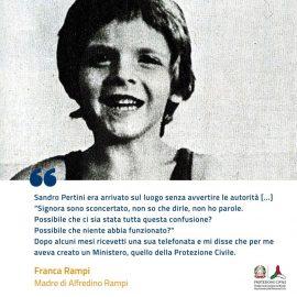 ALFREDINO, A 40 DALLA TRAGEDIA CHE SCOSSE L'ITALIA INTERA