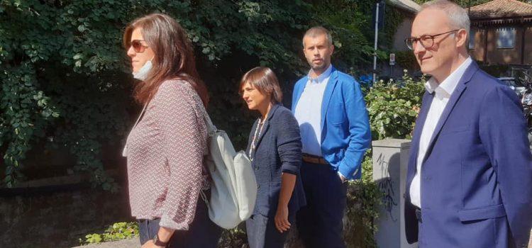 """MALTEMPO NEL COMASCO: """"Presidente Deputati PD Serracchiani incontra Sindaci dei territori del lago colpiti dall'alluvione lo scorso luglio"""""""