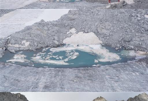 """CRISI AMBIENTALE: """"Ogni anno dall'Adamello sparisce l'equivalente di 5600 piscine olimpioniche di ghiaccio"""""""