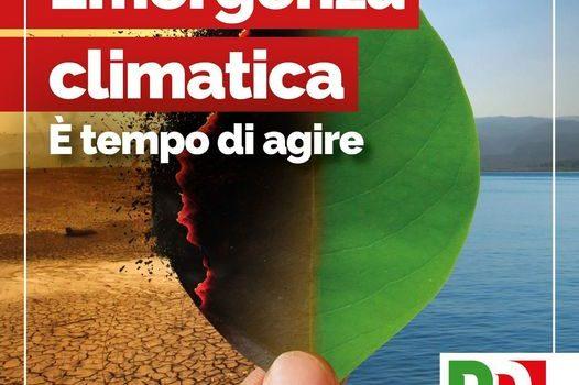 """EMERGENZA CLIMATICA: """"E' tempo di agire"""""""