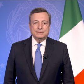 """CLIMA: """"Da Draghi parole nette che esortano gli Stati ad agire rapidamente alla crisi climatica in atto"""""""