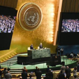 "ASSEMBLEA GENRALE ONU: ""Due annunci importanti da Cina e Usa per la lotta al riscaldamento globale"""